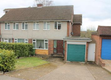 Thumbnail 3 bed semi-detached house for sale in Deeds Grove, High Wycombe