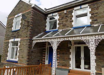 Thumbnail 4 bed semi-detached house for sale in Lackawanna Villa, Castel Street, Abertillery.
