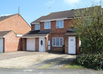 Thumbnail Semi-detached house for sale in Goulding Close, Lower Stratton, Swindon