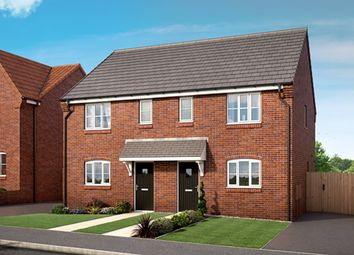 "Thumbnail 3 bed property for sale in ""The Meadowsweet"" at Mooracre Lane, Bolsover, Chesterfield"