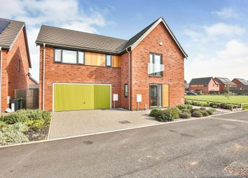 Thumbnail 4 bed detached house for sale in Buttercup Drive, Swaffham