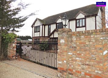 Thumbnail 4 bed detached house to rent in Vicarage Lane, North Weald, Epping