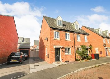 Thumbnail 3 bed semi-detached house for sale in Knitters Road, South Normanton, Alfreton