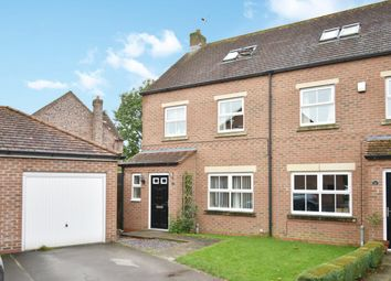 Thumbnail 4 bed semi-detached house for sale in The Laurels, Barlby, North Yorkshire