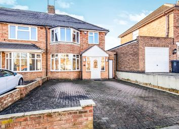3 bed semi-detached house for sale in Englefield Road, Evington, Leicester LE5