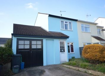Thumbnail 2 bed semi-detached house for sale in Ladymead, Woolbrook, Sidmouth, Devon