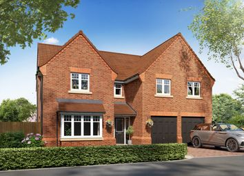 """Thumbnail 5 bedroom detached house for sale in """"Plot 25 - The Dunstanburgh"""" at Ollerton Road, Edwinstowe, Nottinghamshire"""