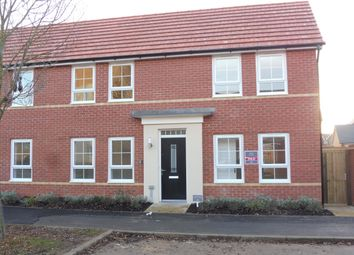 Thumbnail 3 bed property to rent in Drake Avenue, Peterborough