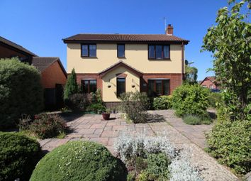 Thumbnail 4 bedroom detached house for sale in Dunston Drive, Oulton, Lowestoft