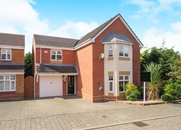 Thumbnail 4 bed detached house for sale in Haymaker Way, Heath Hayes, Cannock