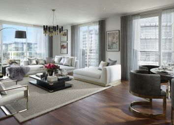 Thumbnail 3 bed flat for sale in Meridian House, Juniper Drive, Wandsworth