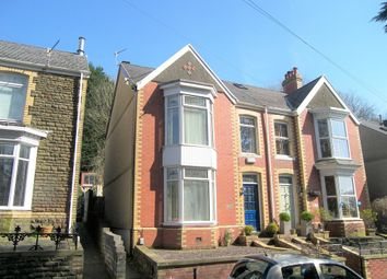 Thumbnail 3 bed semi-detached house for sale in The Highlands, Neath Abbey, Neath