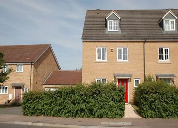 Thumbnail 3 bed town house for sale in Howards Way, Moulton Park, Northampton