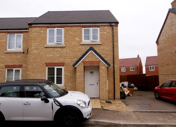 Thumbnail 3 bed semi-detached house to rent in Eider Grove, Spalding
