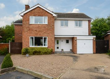 Thumbnail 4 bed detached house for sale in Beaumont Close, Keyworth, Nottingham