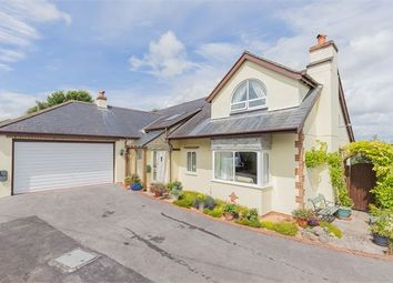 Thumbnail 4 bedroom detached bungalow for sale in Croft Road, East Ogwell, Newton Abbot, Devon.