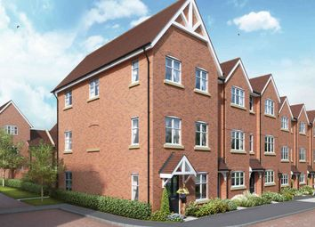 "Thumbnail 4 bed terraced house for sale in ""The Penrith V2"" at The Ridgeway, Enfield"