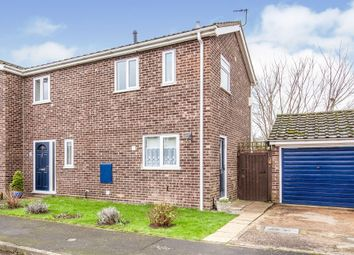 Thumbnail 3 bed semi-detached house for sale in Manor Close, Little Paxton, St. Neots