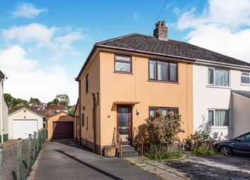 Thumbnail 3 bed semi-detached house for sale in Rydon Road, Kingsteignton, Newton Abbot, Devon