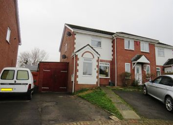 Thumbnail 2 bed end terrace house for sale in Spires Walk, Barry