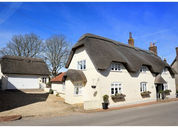 Thumbnail 4 bed detached house for sale in Higher Street, Okeford Fitzpaine