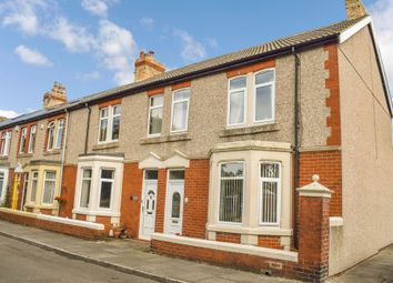 Thumbnail 3 bedroom terraced house for sale in Grasmere Terrace, Newbiggin-By-The-Sea