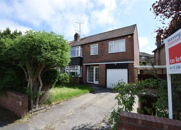 Thumbnail 5 bed semi-detached house to rent in Sandhill Oval, Leeds, West Yorkshire