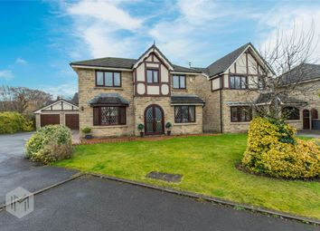 Thumbnail 4 bed detached house for sale in Kepplecove Meadow, Worsley, Manchester