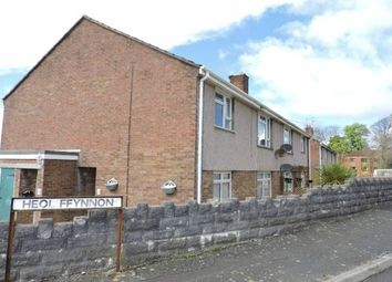 Thumbnail 2 bed flat to rent in Heol Ffynnon, Loughor, Swansea