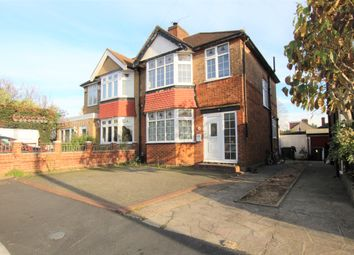 Thumbnail 3 bed semi-detached house for sale in Lawn Close, London