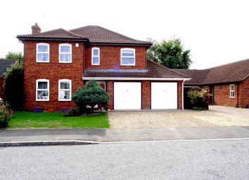 Thumbnail 4 bed detached house for sale in Campion Close, Spalding