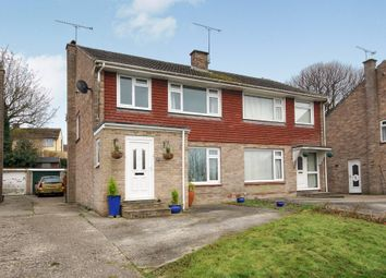 Thumbnail 3 bedroom semi-detached house for sale in Syward Close, Dorchester