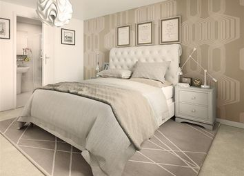 Thumbnail 2 bed flat for sale in Guildford Avenue, Kingsmead, Milton Keynes