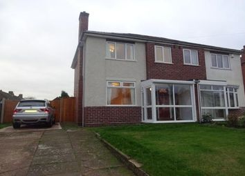 Thumbnail 3 bed semi-detached house to rent in King George Crescent, Walsall