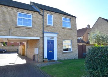 Thumbnail 3 bed terraced house to rent in Eynesbury Manor, St Neots, Cambridgeshire