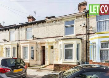 Thumbnail 3 bedroom terraced house to rent in Burleigh Road, Portsmouth, Hampshire