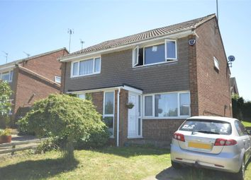Thumbnail 2 bed semi-detached house to rent in Fair Lane, Thrapston, Kettering, Northamptonshire