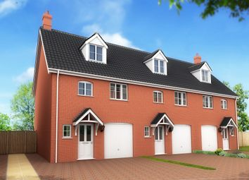 Thumbnail 3 bedroom semi-detached house for sale in Shotesham Road, Poringland, Norwich