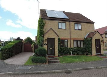 Thumbnail 2 bed semi-detached house to rent in The Causeway, Thurlby, Bourne, Lincolnshire