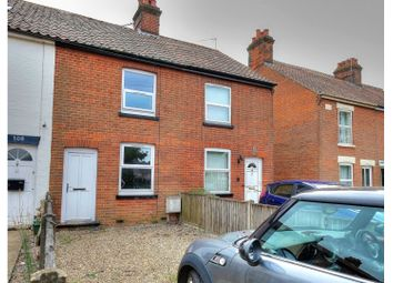 Thumbnail 2 bed terraced house for sale in Norwich Road, Dereham