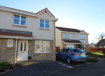 Thumbnail 3 bedroom semi-detached house for sale in Borthwick Place, Balmullo, St. Andrews