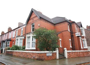 Thumbnail 4 bedroom terraced house for sale in Rutland Avenue, Aigburth, Liverpool
