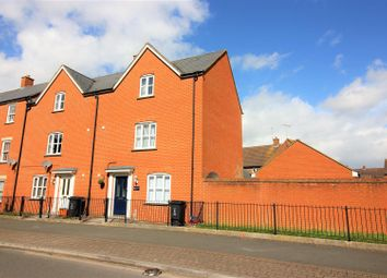 Thumbnail 3 bed end terrace house for sale in Redhouse Way, Swindon