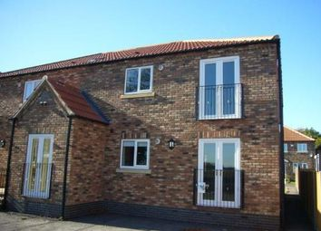 Thumbnail 2 bed flat for sale in Station Road, Rawcliffe, Goole