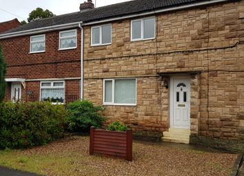 Thumbnail 3 bed semi-detached house to rent in Holmefield Road, Whitwell, Worksop