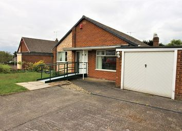 Thumbnail 3 bed bungalow to rent in Cristchurch Avenue, Aston, Sheffield