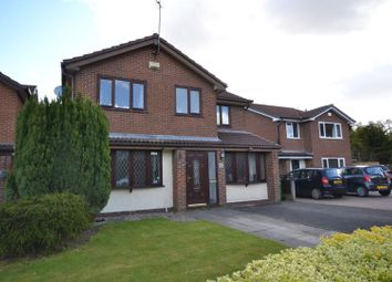 Thumbnail 4 bed detached house for sale in Vincent Close, Old Hall, Warrington
