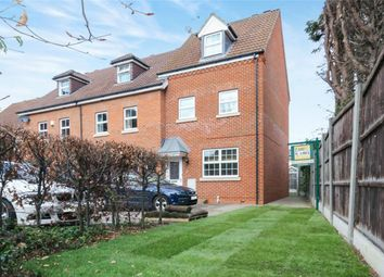 Thumbnail 3 bed end terrace house for sale in Abrahams Close, Bedford