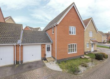 Thumbnail 3 bed detached house for sale in Emmerson Way, Hadleigh