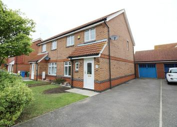 Thumbnail 3 bed semi-detached house to rent in William Rigby Drive, Minster On Sea, Sheerness